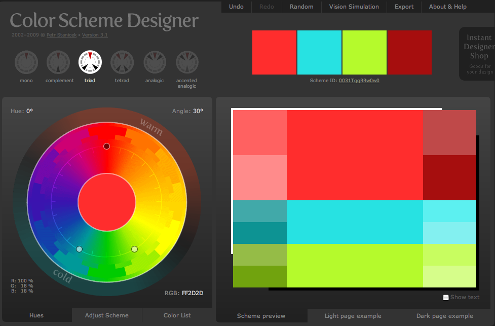 4 Color Combinations week 4: divs/color – web design for the classroom